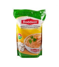 Fasole bătută instant Roddson, în ambalaj de 1kg este alternativa rapidă la mâncarea de fasole bătută tradițională. Gustul excelent, ingredientele de calitate fac din fasolea bătută instant Roddson o opțiune delicioasă când vrei să economisești timp.