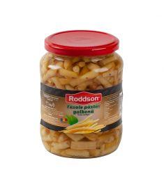 Fasolea păstăi galbenă Roddson, în borcanul de 720ml este cultivată și preparată în România, cu atenție și grijă pentru a vă oferi un deliciu culinar fără compromisuri. Acest produs nu conține conservanți și este sterilizat.