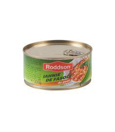 Iahnia de fasole de post Roddson în cutie de 300 grame, poate reprezenta o masă delicioasă și hrănitoare pentru zilele de post. Conține ingrediente de calitate și este produs în România.